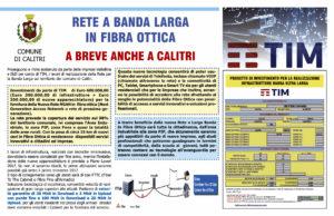 RETE A BANDA LARGA IN FIBRA OTTICA