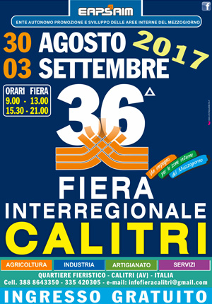 36° Fiera Interregionale di Calitri