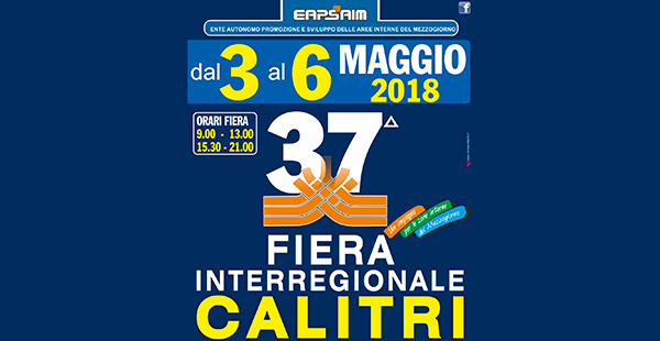 37° Fiera Interregionale di Calitri