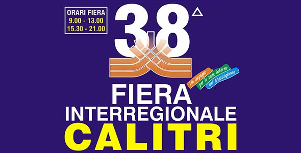 38° Fiera Interregionale di Calitri